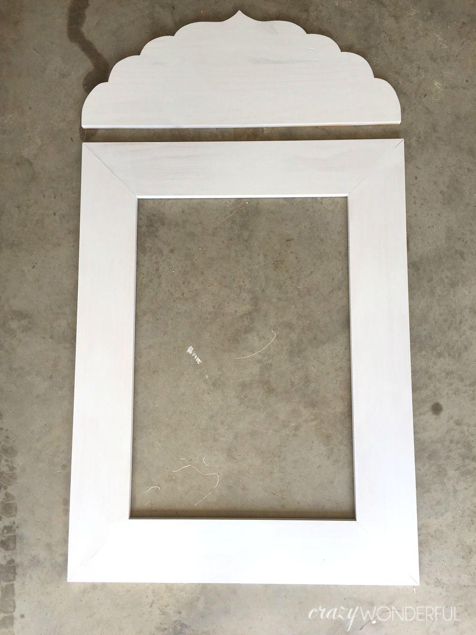 Diy inlay mirror 2 ways crazy wonderful jeuxipadfo Image collections