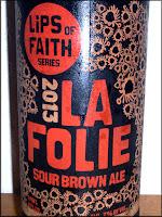 New Belgium La Folie