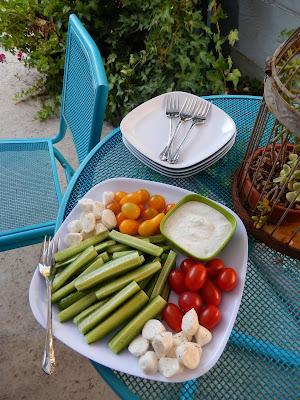 Tidbit%2Bparty%2BEggface%2BVeggie%2BTray%2BGreek%2BParmesan%2BDip Weight Loss Recipes You Say Tomato, I Say Tomato Recipes