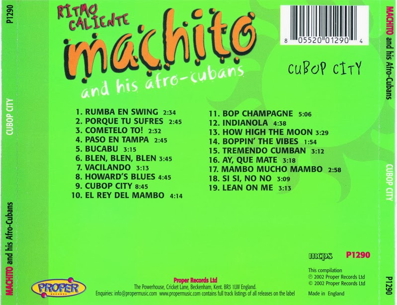 Machito And His Orchestra - Dance Date With Machito