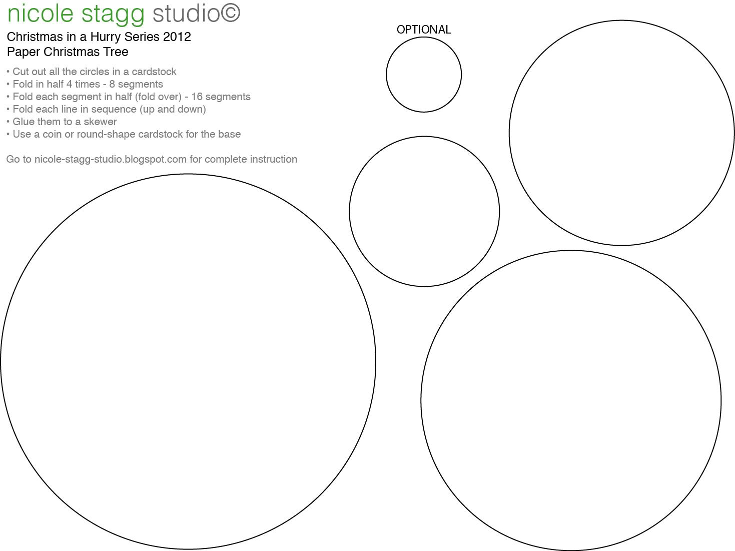 Evergreen Tree Outline: Christmas Tree Template Printable, Evergreen ...