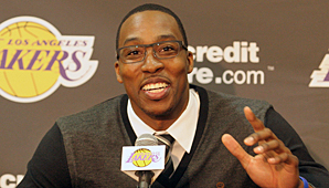 Dwight Howard smiling