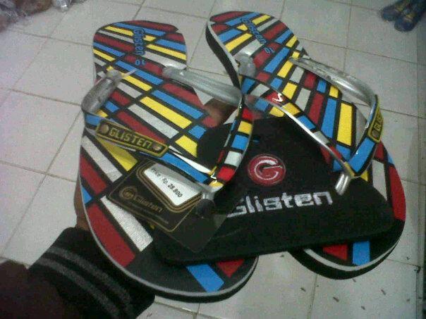 pusat grosir sandal sandal glisten noah rp 10 700