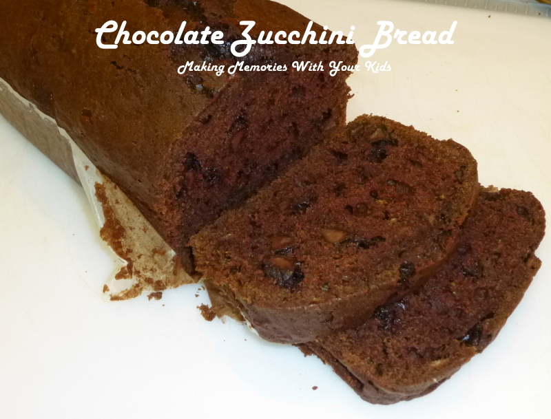 ... zucchini bread i wanted to try a chocolate zucchini bread recipe at