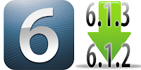 downgrade iOS 6.1.3 to iOS 6.1.2
