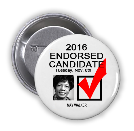 RACE FOR HARRIS COUNTY CONSTABLE PRECINCT 7 -- May Walker