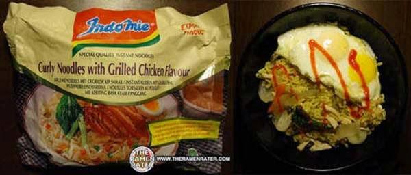 Indomie Mie Keriting Rasa Ayam Panggang, Indonesia