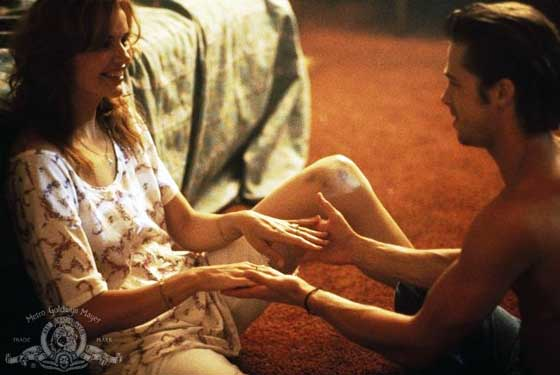 Geena Davis in sexiest movie scenes ever Thelma And Louise