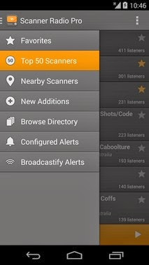 Scanner Radio Pro android apk Free Download