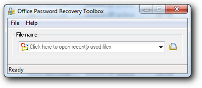 Office Password recovery Tollbox