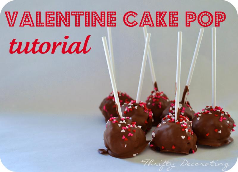 Valentine S Day Cake Pop Decorating Ideas : Day 5: Valentine Cake Pop Tutorial with Thrifty Decorating ...