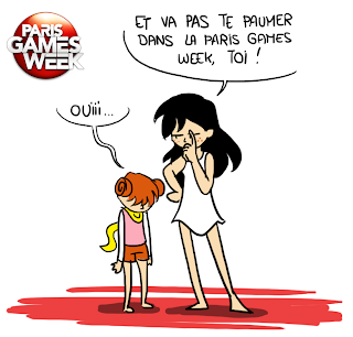 Se perdre à la Paris Games Week