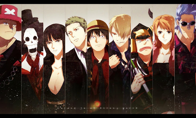 One Piece Straw Hat Crew Wallpaper 0012