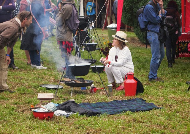 Cerys Matthews Campfire at The Good Life Experience