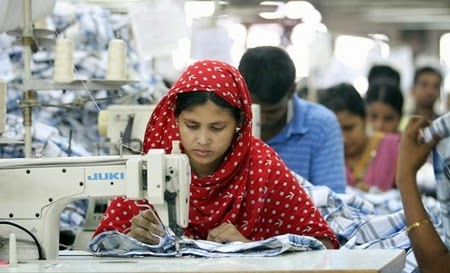 Production in apparel industry