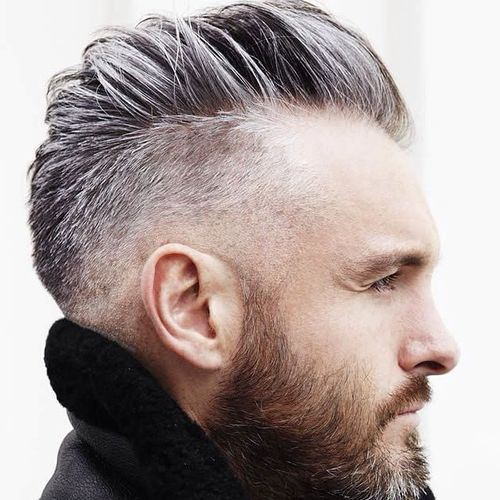 Side Swept Hairstyles Mens