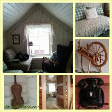 de rode huset, outside of Tromso Norway. Beautiful traditional cabin