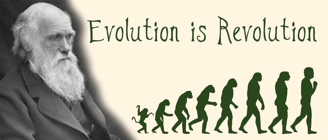Evolution is Revolution