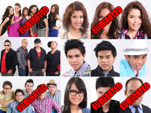 X-Factor Philippines Final 7 Finalist and 6th Elimination Night
