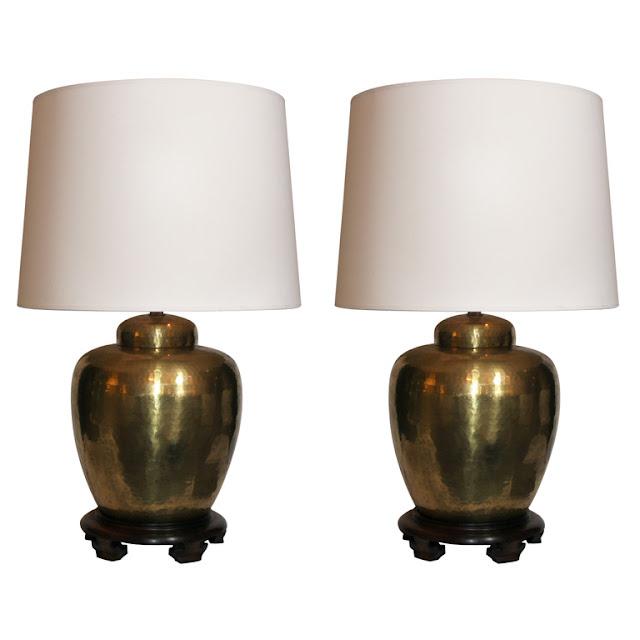 Chinoiserie Chic Brass Chinoiserie Lamp HighLow