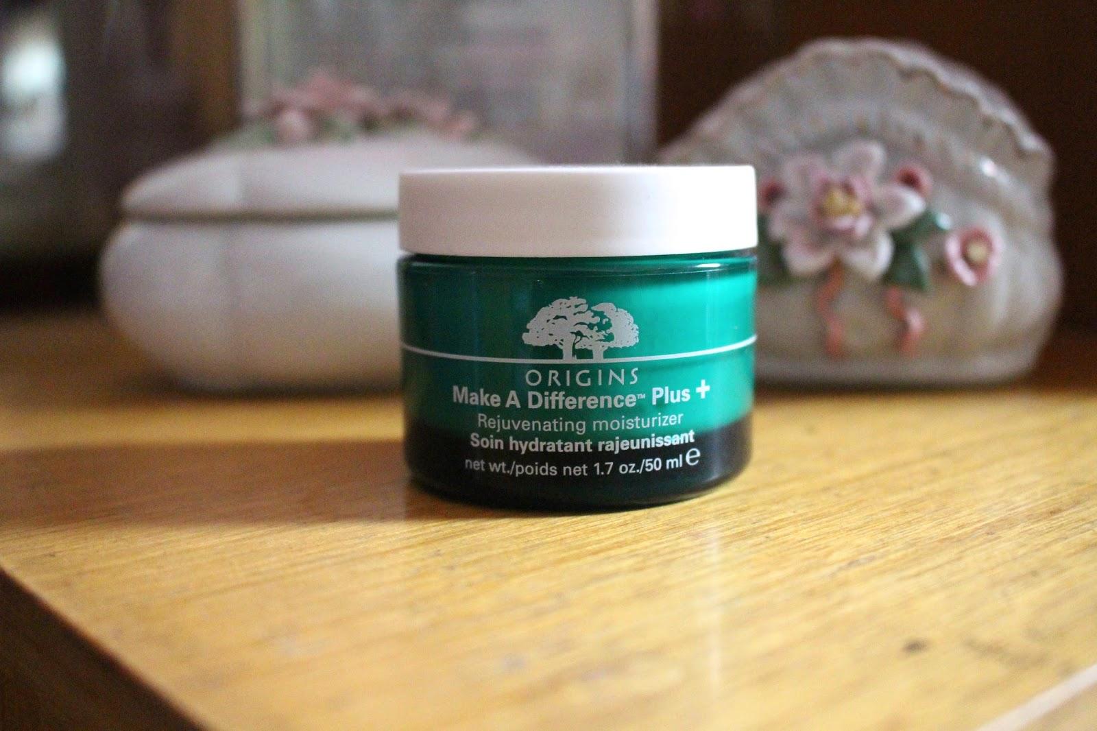 Origins Make a difference moisturiser