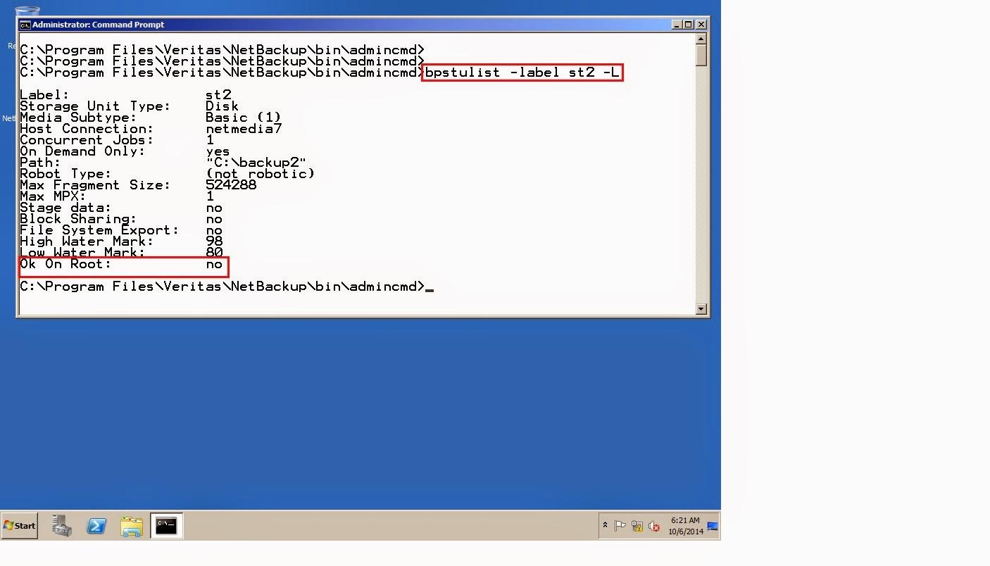 To delete the storage unit.  sc 1 st  Remote Infrastructure Management & Remote Infrastructure Management: Symantec Netbackup 7.6.0.1 Command ...