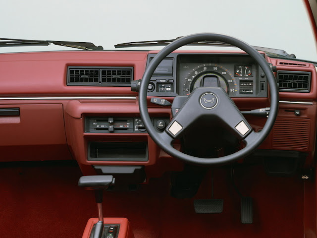 Honda Civic Country, wnętrze, interior