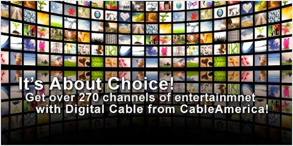Premium Channel Cable America TV