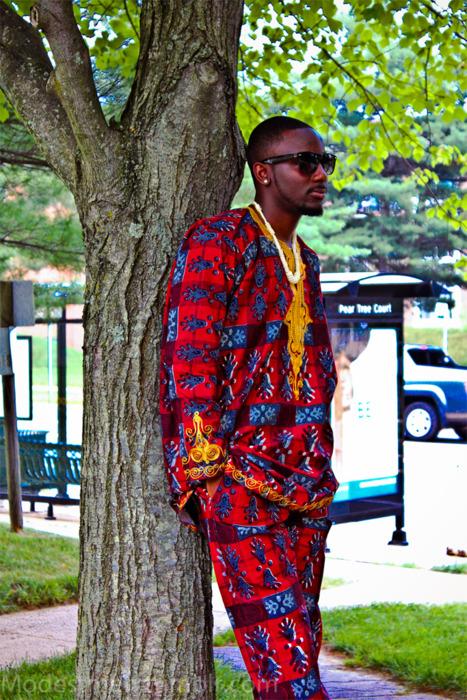 style sense totally ankara purely african men