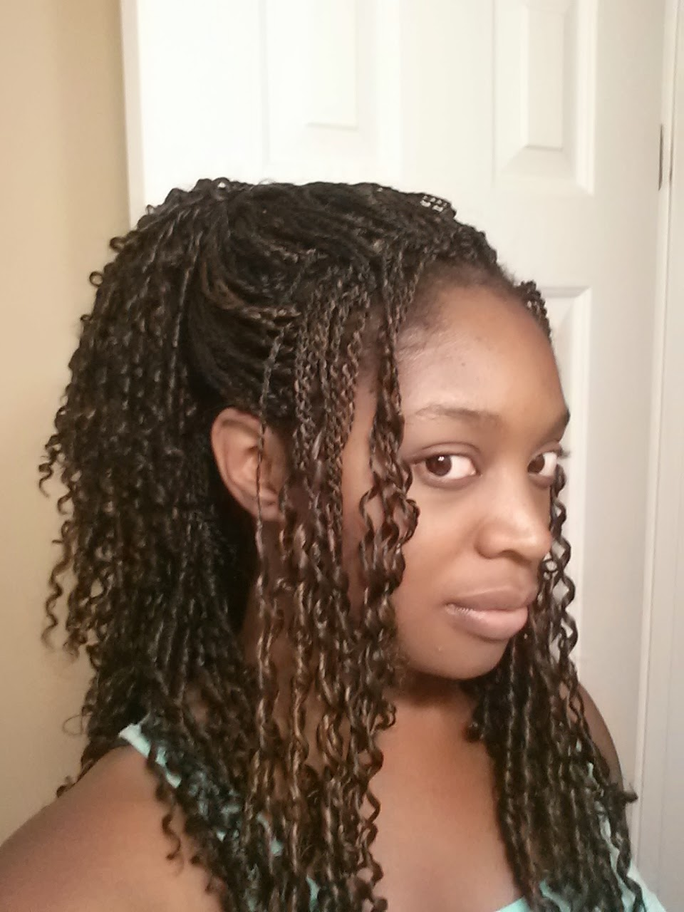 Pre Twisted Crochet Hair Styles : Crochet Pre Braided Hair with Braids