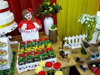 Decoração de festa Gauchesca em Porto Alegre
