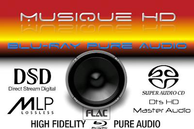 Musique HD : Blu-ray pure audio un format audio deluxe