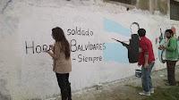 Homenaje a los caídos en Malvinas por La Cámpora Mercedes