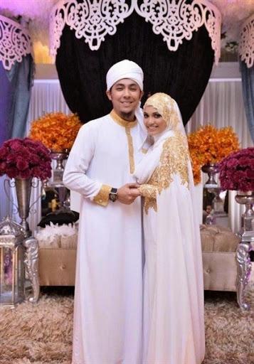 Desain Baju Pernikahan Muslim Melayu
