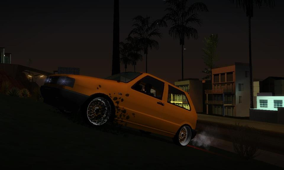 Ekipe Gta Cars 176 ★ Gta Sa Fiat Uno 1995 Bbs Dourada