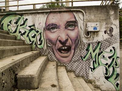 Graffiti en Beasain