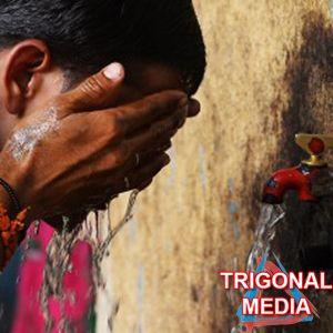 gelombang panas menyerang India