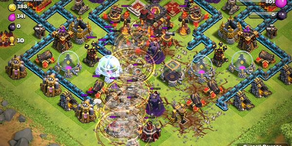 Cara Menggunakan Earthquake Spell Pada Game Clash of Clans