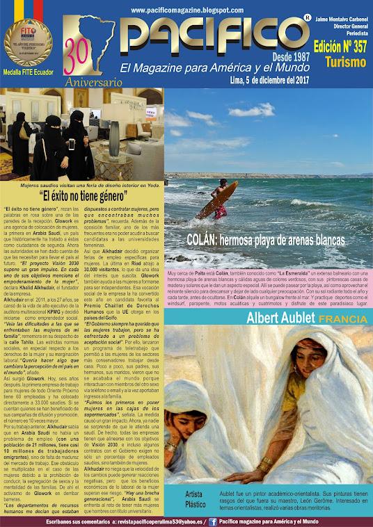 Revista Pacífico Nº 357 Turrismo