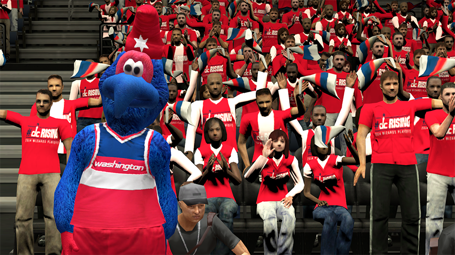 #dcRising Playoffs Crowd NBA 2K14