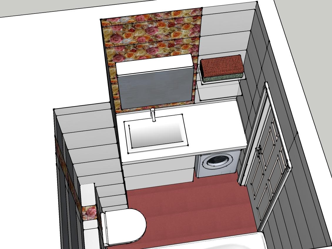 дизайн ванной комнаты 4 5 кв м со