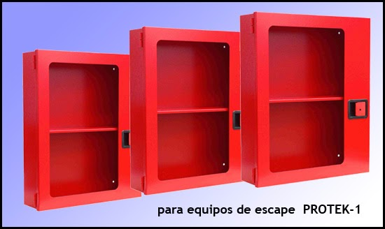 Armario para EPIS, equipos proteccion individual, equipo escape