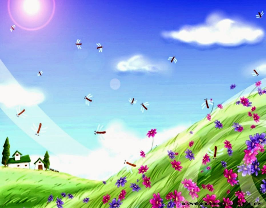 Animated Spring Flowers Screensavers Best Wallpaper Background