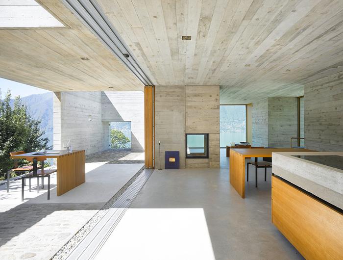 Casas minimalistas y modernas casa moderna en hormigon for Casa moderna hormigon