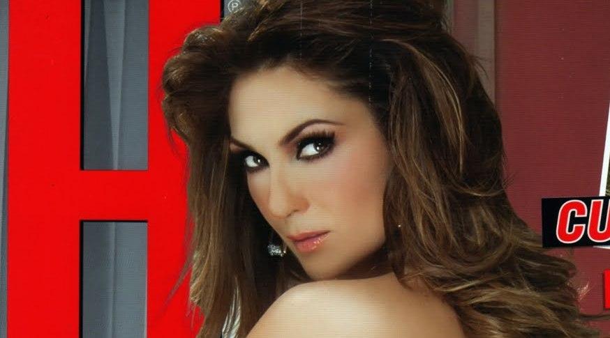 Fotos de Nora Salinas posando desnuda en Revista 'H' – Febrero