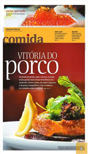Comida, o caderno de gastronomia da Folha