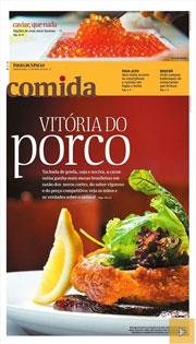 Comida, o caderno de gastronomia da Folha