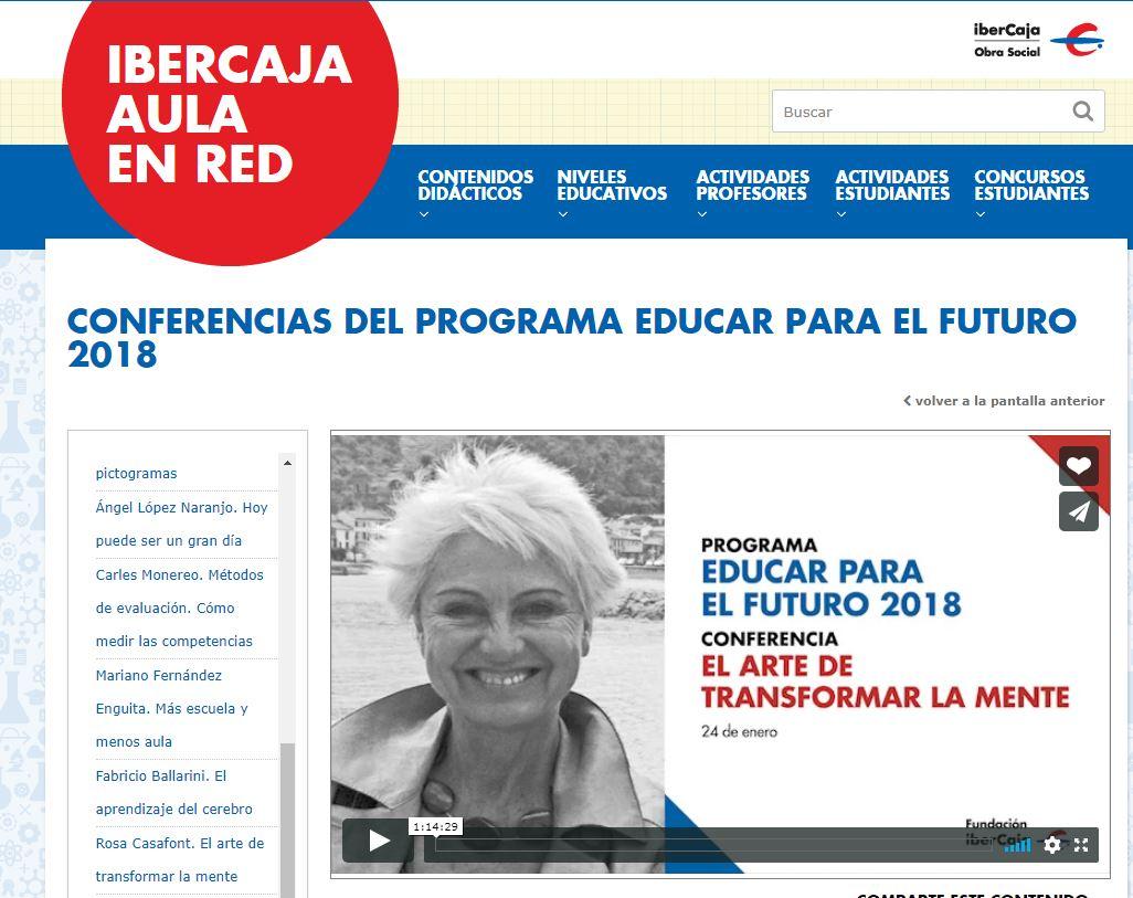 CONFERENCIAS INNOVACIÓN PEDAGÓGICA.