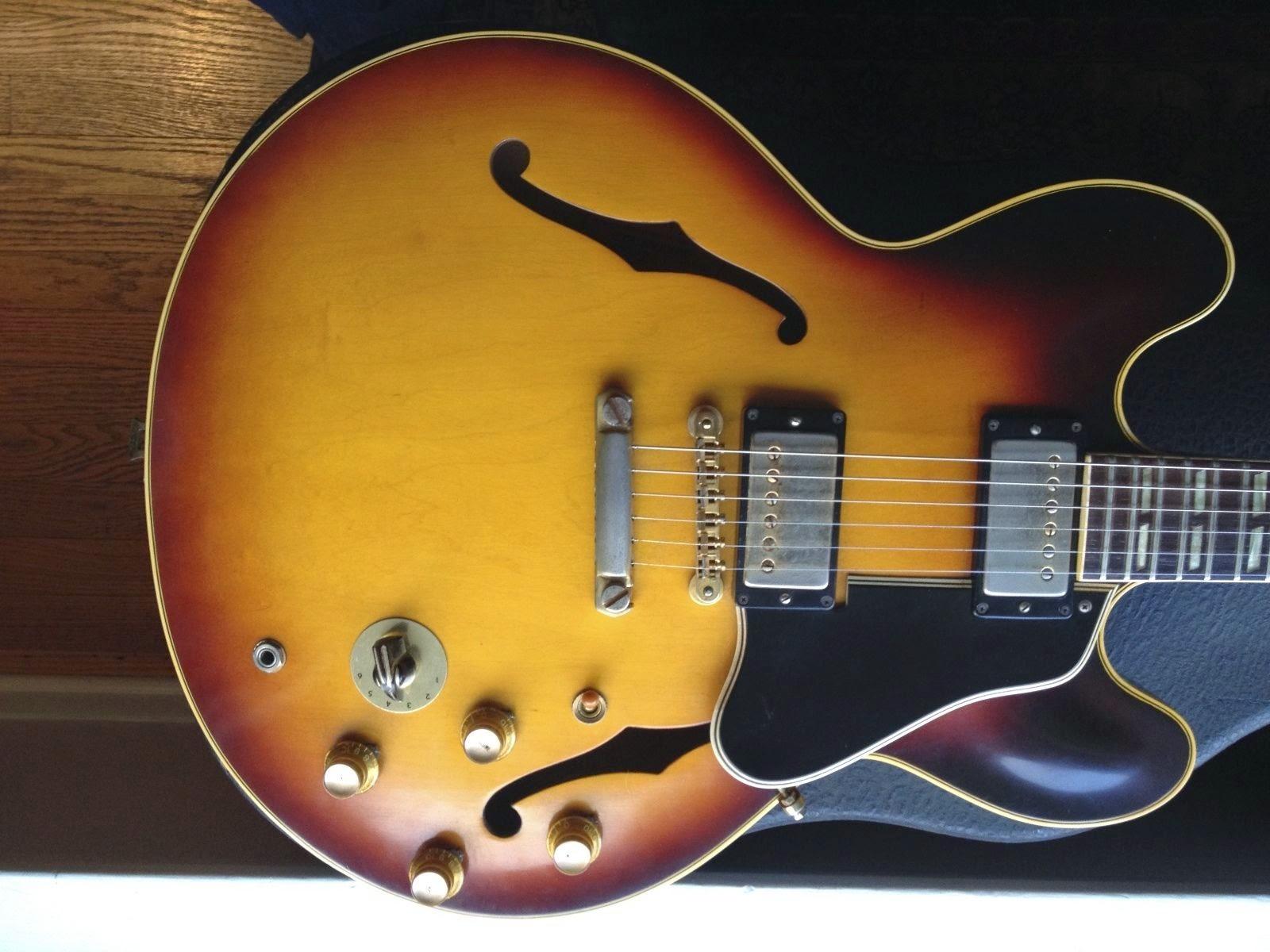 1962 Vintage Gibson Stop Tail ES 345 SB Electric Guitar