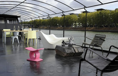 A House Boat In Paris